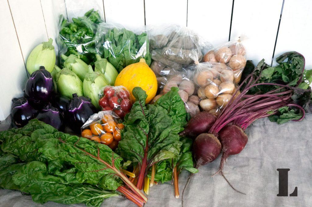 Lサイズの野菜セット