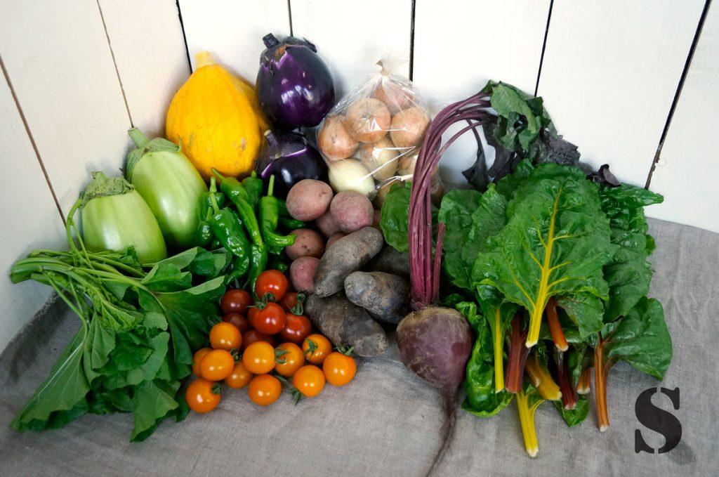 Sサイズの野菜セット